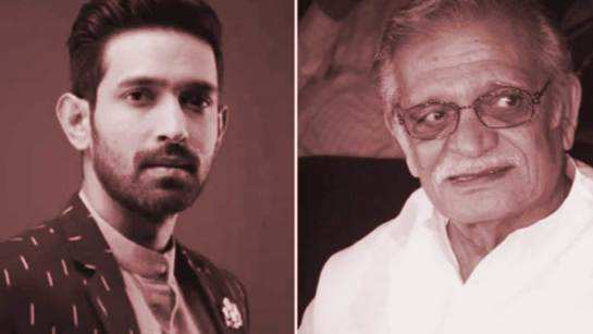 Chhapaak actor Vikrant Massey is excited that his film associates him with legendary poet Gulzar