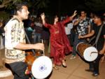 Sanya Malhotra celebrates Lohri