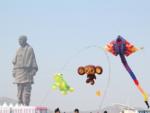 Uttarayan celebrations at Statue of Unity