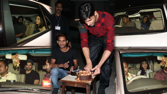 Sidharth Malhotra turns 35, Bollywood celebs attend actors's birthday bash