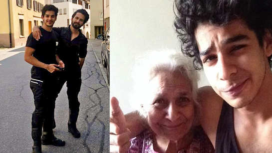 Shahid Kapoor and Ishaan Khatter's grandmother passes away, 'Dhadak' actor pens down heartfelt note for his 'ammi'