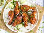 Bohri fried chicken legs