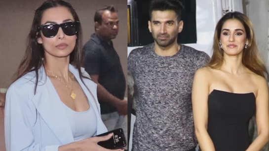 From Malaika Arora to Disha Patani, BTown celebs spotted in and around Mumbai