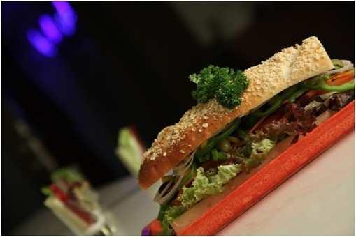 Garden Fresh Oats Sandwich