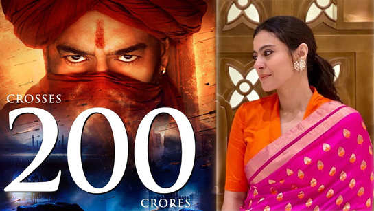 Ajay Devgn, Saif Ali Khan starrer 'Tanhaji: The Unsung Warrior' enters Rs 200 cr club, Kajol eyes rs 250 cr mark