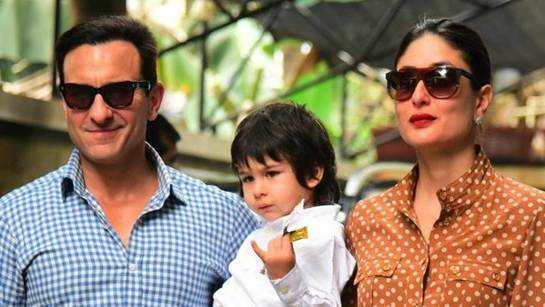 Saif Ali Khan reveals that son Taimur Ali Khan can't take no for an answer
