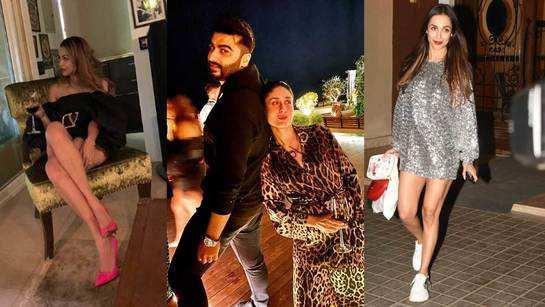 Malaika Arora, Arjun Kapoor, Kareena Kapoor Khan, Karisma Kapoor and other celebs attend Amrita Arora's birthday bash