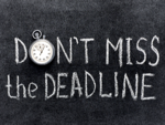 If the deadline is arbitrary or impossible, bring it other's notice