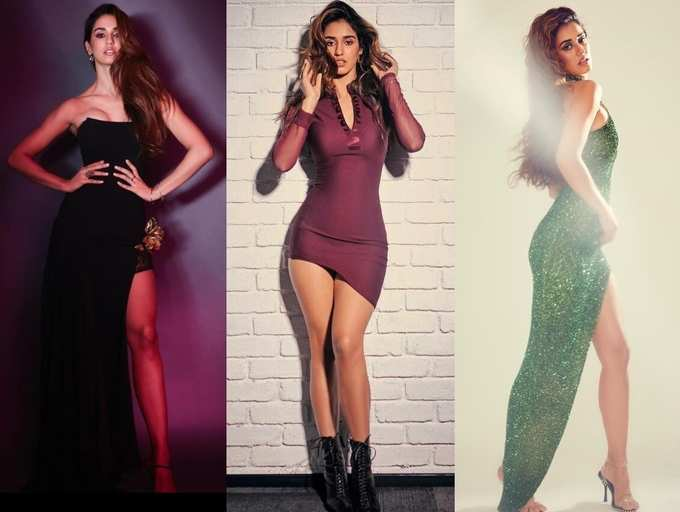 Bodycon Outfits To Thigh High Slit Dresses Six Times Disha Patani Inspired Us With Her Bold And Beautiful Malang Style File The Times Of India
