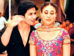 Shahid Kapoor and Kareena Kapoor Khan in 'Jab We Met'