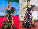 Taapsee Pannu packs on the drama on the red carpet