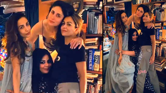 Kareena Kapoor Khan hosts house party for her girl squad, Malaika Arora shares glimpses from the bash