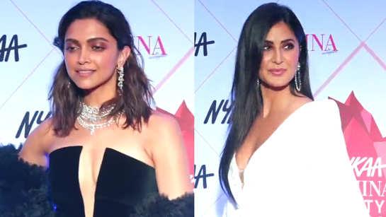 Deepika Padukone in black vs Katrina Kaif in white, who rocked the red carpet look?