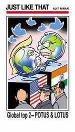 Global top 2 - POTUS and LOTUS