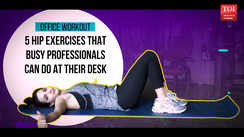 5 hip exercises busy professionals can do at their desk