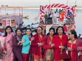 Banarasis had fun at this boat party