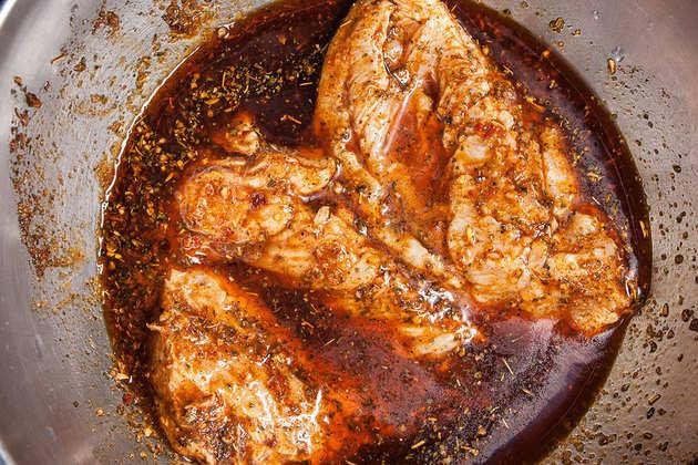 Cooking-chicken