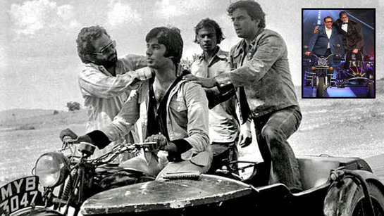 Flashback Friday! Dharmendra relives 'Sholay' days with old picture featuring Amitabh Bachchan