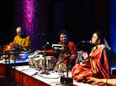 Musicians enthrall the audience​ at the Omkara concert