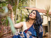 Actress Shwetha Srivatsav turns heads in her ethnic avatar