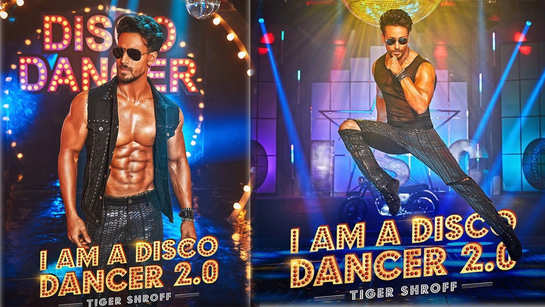 Tiger Shroff shares another poster of 'Disco Dancer 2.0'