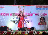 Telangana governor participates in Women's Day celebrations