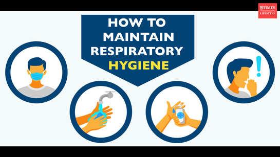 How to maintain respiratory hygiene