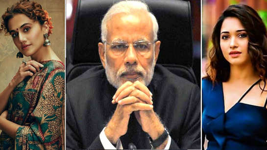 PM Narendra Modi announces 21-day lockdown: Taapsee pannu, Shahid Kapoor, Riteish Deshmukh, Tamannaah Bhatia come out in support, urge people to stay at home