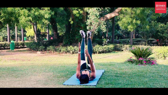 NIDHI CORE AND ABS VIDEO 1
