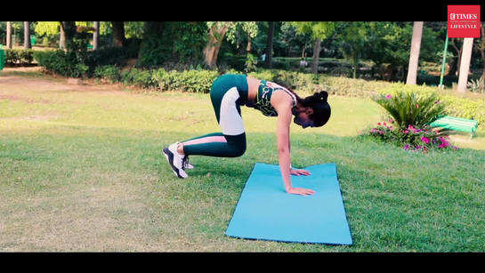 NIDHI CORE AND ABS VIDEO 4