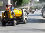 PMC begins disinfection in localities
