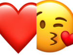 If most of your answers are A: You are a cross between the heart emoji and the kiss face emoji