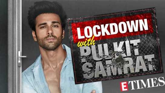 Pulkit Samrat's day 4 lockdown video