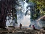Fumigation at Kasturba hospital