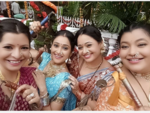 Gokuldham ladies in upbeat mood