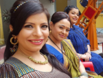 Jennifer with Sonalika Joshi and Ambika Ranjankar