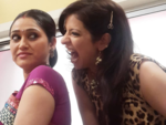 Jennifer and Disha's nautanki