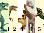 ​Choose your favourite dinosaur and we will tell your personality type
