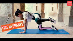 The best at-home butt workout - FIRE HYDRANTS