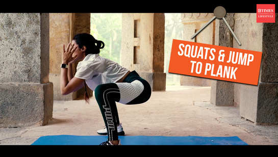 The best at-home butt workout - SQUAT N JUMP