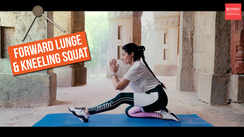 The best at-home butt workout - FORWARD LUNGE