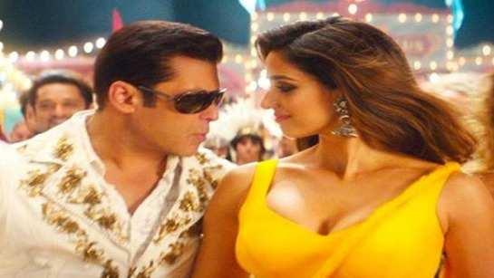Disha Patani says it's inspiring to see how at this age Salman Khan nails the action scenes