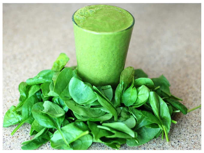 Health Benefits of Spinach Juice | How to make spinach juice at home
