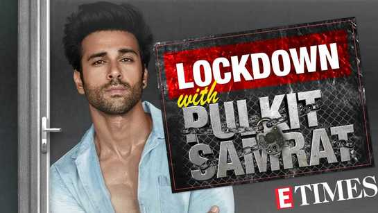 Pulkit Samrat's Day 10 lockdown video