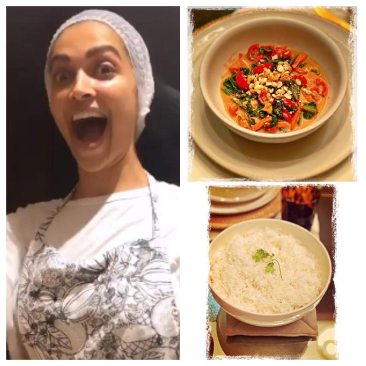 Deepika Padukone Cooks A Delicious Thai Meal For Ranveer Singh Watch Out The Recipes