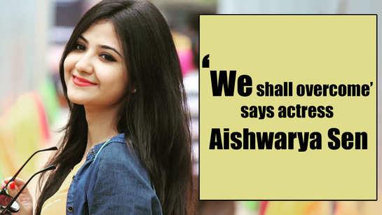 We shall overcome this too: Aishwarya Sen upholds the spirit amidst nationwide lockdown