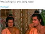 On Bear Grylls