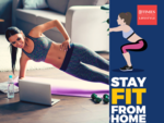​Stay fit from home challenge: To help you focus on your health until lockdown ends