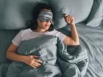 Sleep in a dark room