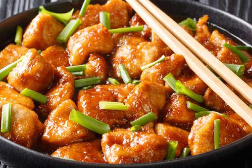 Chicken In Hot Garlic Sauce